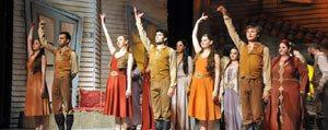 Seslerle Anadolu Müzikli Oyunu Sergilendi