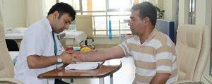 Hastane Fizik Tedavi Ünitesi Hastalarina Sifa Dagitiyor