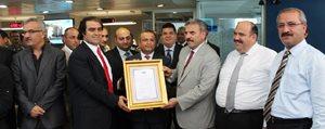 Türk Telekom Il Müdürlükleri Yarismasi'nda Yilin Ikinci Ödülü Karaman'a