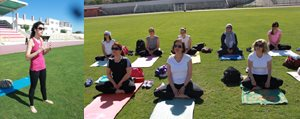 Karamanli Hanimlar Yogayla Bulustu