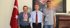 Avcilardan, Spor Il Müdürü Turan'a Ziyaret