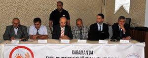 Karaman'da Fasulye Yetistiriciligi Ve Sorunlari Konusuldu