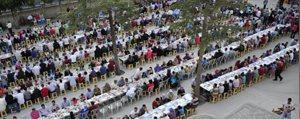 Iftar Sofrasi Çeltek Mahallesi'ne Kuruldu