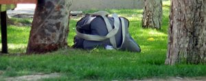 Karaman`da Süpheli Çanta Alarmi