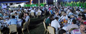 Ticaret Borsasi Üyeleri Ile Iftar Yemeginde Bir Araya Geldi