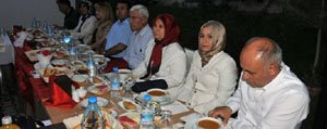 Vali Koca Il Protokol Üyelerine Iftar Yemegi Verdi
