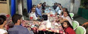 SMMM Odasi Ermenek'teki Üyeleriyle Iftar'da Bulustu