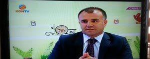 Milli Egitim Müdürü Asim Sultanoglu Kontv'ye Konuk Oldu
