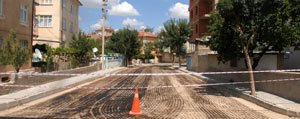 Karaman Belediyesi'nin Asfalt Çalismalari Sürüyor