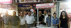 CHP, Cumhurbaskanligi Seçimi Için Tanitim Standi Açti