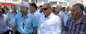Karaman'dan Cumhurbaskani Adayi Erdogan'a Destek