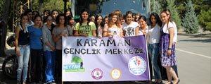 Karaman`da `Sehirler Ve Kültürler` Projesine Yogun Ilgi