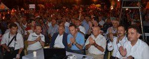 Ak Partililer Seçim Zaferini Kent Meydani'nda Kutladi