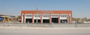 Yeni Itfaiye Binasi Yakinda Hizmete Giriyor