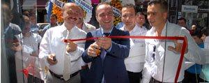 Turgay Bas Kasap Mustafa'nin Açilis Törenine Katildi