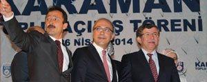 Dereli: Davutoglu'nun Basbakanligi Karaman Için Büyük Bir Sans
