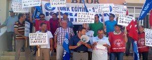 Türk Egitim-Sen Görevden Alinan Okul Müdürlerine Sahip Çikti