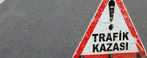 Karaman`da Trafik Kazasi: 8 Yarali