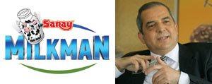 Saray Holding'in Istiraki Milkman Açiliyor