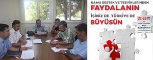 Karaman`da ` Kamu Destekleri Egitim Programi` Gerçeklestirilecek