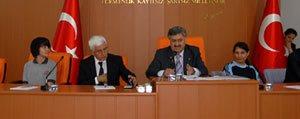 Karaman`da Kent Konseyi Genel Kurul Toplantisi Yapildi
