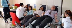 SGK Il Müdürlügünde Kan Bagisi Kampanyasi