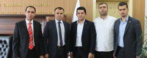 Gençler, Sultanoglu'nu Ziyaret Etti