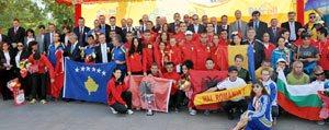 43. Balkan Ülkeleri Posta Dagiticilari Yürüyüs Yarismasi Karaman'da Yapildi