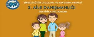 KMÜ'de 3. Aile Danismanligi Kursu Açiliyor