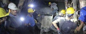 Ermenek'teki Maden Ocagindaki Çalismalar Görüntülendi
