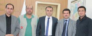 IHH Temsilcileri, Projeye Destekleri Için Sultanoglu'na Tesekkür Ettiler