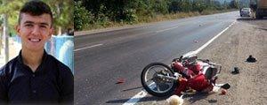 Motosiklet Sevdasi Bir Gencin Daha Sonu Oldu