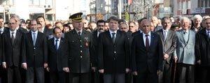Atatürk Vefatinin 76.Yildönümünde Törenlerle Anildi