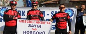 Mescid-I Aksa'ya Saygi Ve Hosgörü Için Pedal Çevirdiler