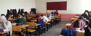 Karaman'da 6 Okulda TEOG Sinavi Yapilamadi. 193 Ögrenci Sinava Giremedi