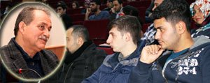 Üniversite'de Türk Müslümanligi Konusuldu