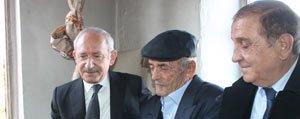 CHP Lideri Kiliçdaroglu'dan Recep Dedeye Ziyaret