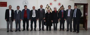 AK Partililerden Emniyet Müdürü Sahne'ye Ziyaret