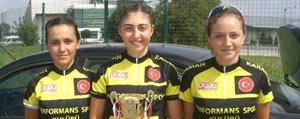 Performans Spor Kulübünden 3 Bayan Sporcu Milli Takima Çagrildi