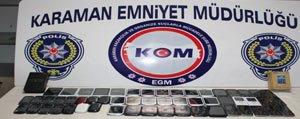 Karaman'da Gümrük Kaçagi 145 Cep Telefonu Ele Geçirildi