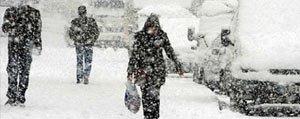 Karaman'da Yogun Kar Yagisi Uyarisi