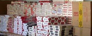 Karaman'da Bin 709 Paket Kaçak Sigara Ele Geçirildi