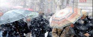 Beklenen Kar Hafta Basinda Geliyor
