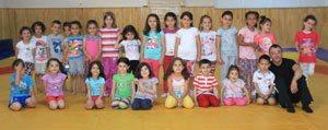Karaman'da Cimnastik Kurslarina Yogun Ilgi