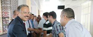 KMÜ'de Bayramlasma Töreni Yapildi