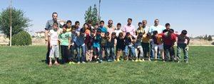 Belediye Spor Yaz Futbol Okulu Açildi