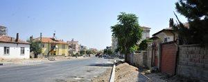 Çalismalar Ahmet Yesevi Caddesi'nde
