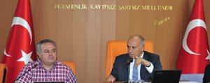 Milletvekili Recep Seker Belediye Meclisini Ziyaret Etti
