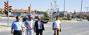 Karaman'da Önemli Kavsaklar Yeniden Tasarlaniyor