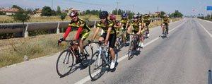 Karamanli Bisikletçiler Kalp Sagligi Için Pedalladi